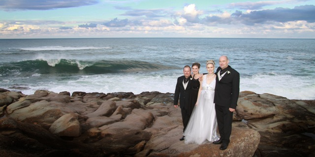 Wedding at Merimbula Beach Holiday Park
