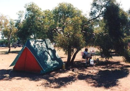 Halls Creek Caravan Park - Photo by Harry Willey