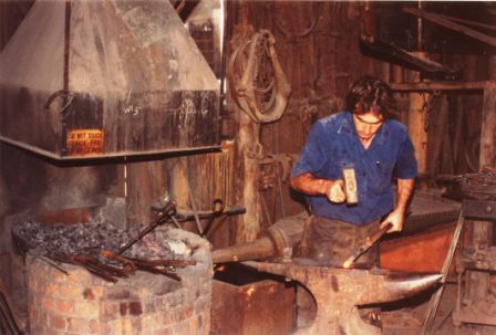 Blacksmith - Photo by Harry Willey