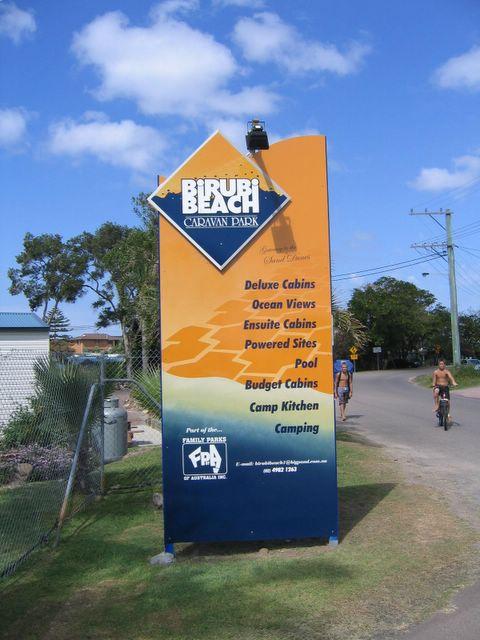 Birubi Beach Holiday Park Anna Bay Birubi Beach Holiday Park Welcome Sign