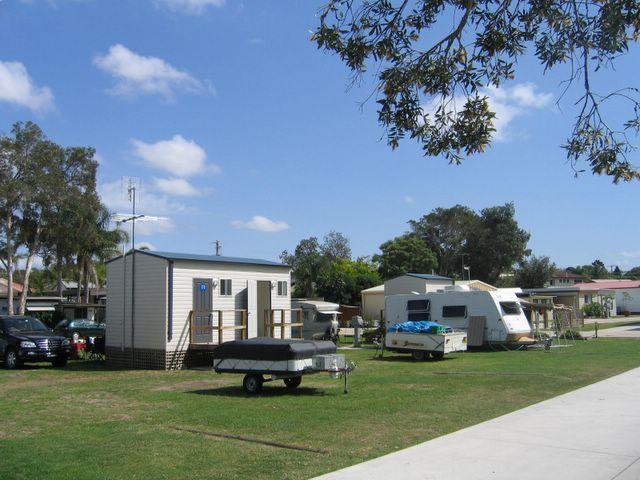 Birubi Beach Holiday Park Anna Bay Ensuite Powered Site For Caravans