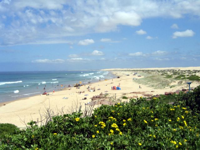 Birubi Beach Holiday Park Anna Bay Stockton Beach Is Walking Distance From The Park