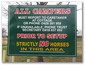 Bathurst Showgrounds Camping Area