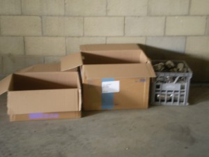 Packing Cartons at Coffs Harbour $1.00 - $2.00 per unit