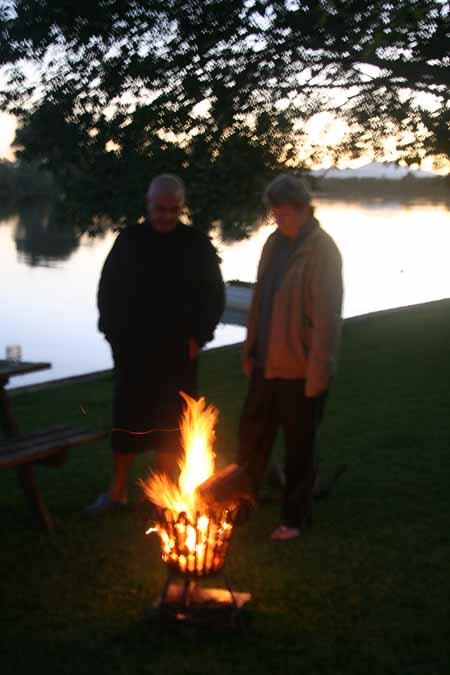 Autumn at Bellinger River Tourist Park, Repton NSW