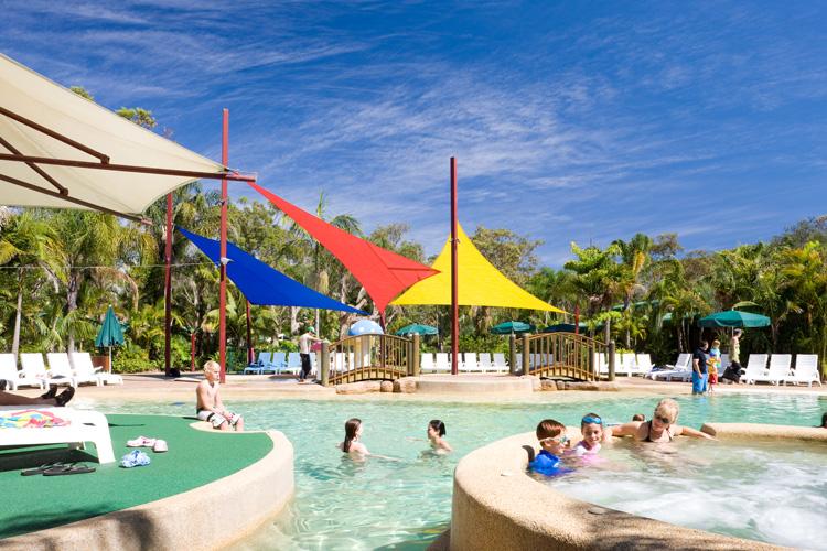 Ocean Beach Holiday Park resort pool