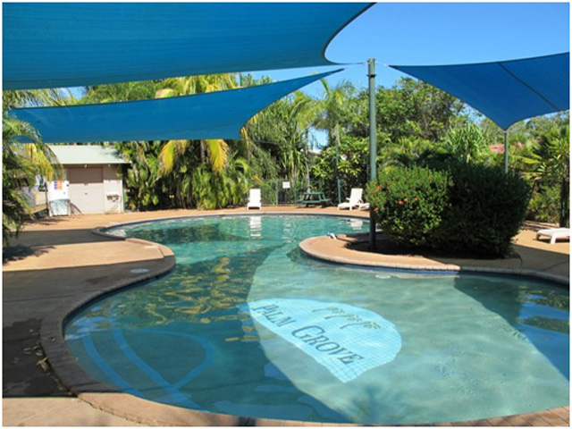 The swimming pool at Palm Grove - photo supplied by Palm Grove Holiday Resort