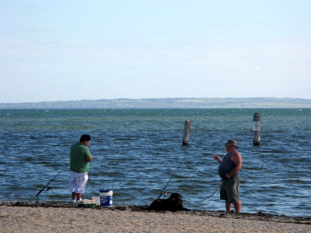 Werribee South is excellent for fishing