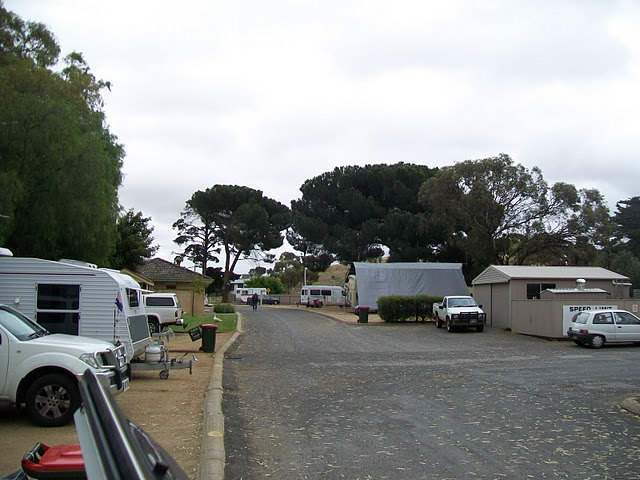 Burra Caravan & Camping Park - Photo by Barry and Helen Rodgers.