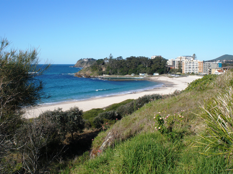 Forster Beach. Photo by Harry Willey.