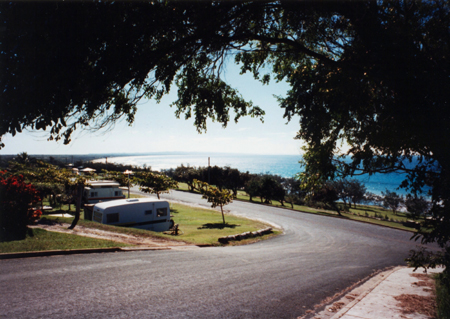 Rainbow Beach Caravan Park - Photo by Harry Willey