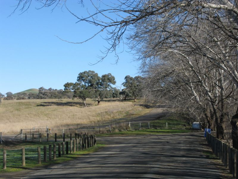 Bowning Hume Highway Rest Area - Bowning Exit from the