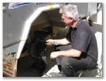 Brakepoint can fix your caravan brakes or suspension.