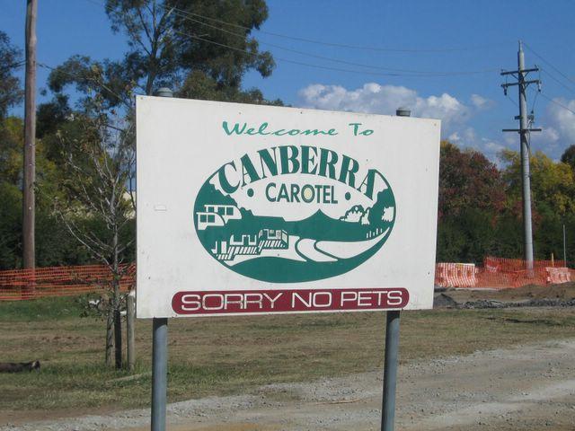 canberra carotel caravan park watson canberra carotel. Black Bedroom Furniture Sets. Home Design Ideas