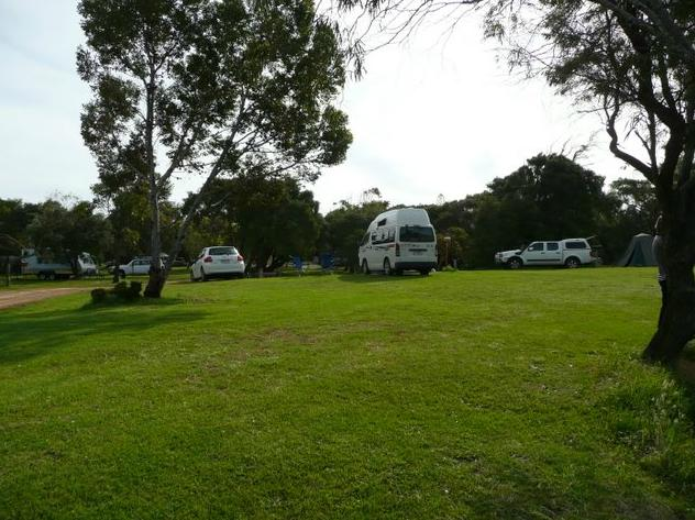 how to get to lancelin caravan park