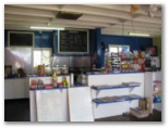 Post Office Caravan Park - Mullaley: Interior of restaurant