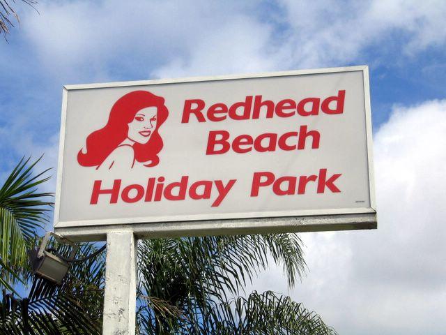 Redhead beach caravan park