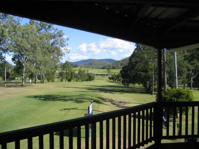 Sarina Golf Course - Sarina: View of the course from the Club House