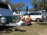 White Albatross Holiday Park - Nambucca Heads: Relaxing in the sun.