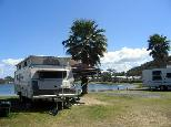 White Albatross Holiday Park - Nambucca Heads: Powered sites for caravans with water views.