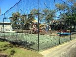 White Albatross Holiday Park - Nambucca Heads: Tennis court and Playground for children.