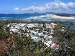 White Albatross Holiday Park - Nambucca Heads: Overview of the park.