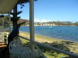 White Albatross Holiday Park - Nambucca Heads: Water views from the cottages.