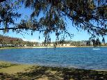White Albatross Holiday Park - Nambucca Heads: The park is set around a delightful lake.