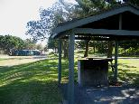 Arakoon State Conservation Area - South West Rocks: Camp kitchen and BBQ area