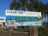 Beachfront Holiday Resort - Hallidays Point: BIG4 Beachfront Holiday Resort welcome sign