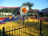 Beachfront Holiday Resort - Hallidays Point: Playground for children.