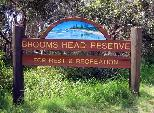 Brooms Head Caravan Park 2009 - Brooms Head: Brooms Head Caravan Park welcome sign