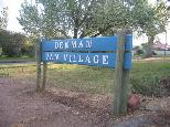 Denman Van Village - Denman: Denman Van Village welcome sign