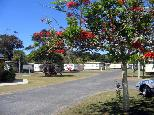 North Beach Caravan Park 2005 - Mylestom: Good paved roads throughout the park