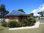 North Beach Caravan Park 2005 - Mylestom: Amenities block and laundry