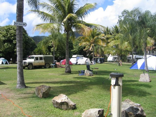 Island Gateway Holiday Park Airlie Beach Area For Tents And Camping