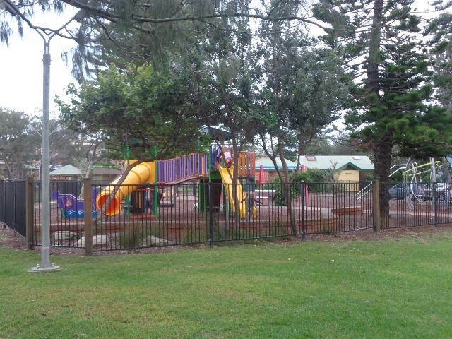 Woolgoolga Beach Caravan Park  Woolgoolga Good Public Playground Right Next To The Park